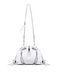 Linea Pelle Ryan Leather Bucket Bag White