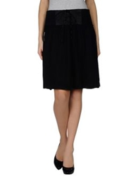 Fairly Knee Length Skirts Black