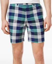Ben Sherman Men's Large Check Shorts Mint
