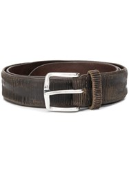Orciani Buckle Belt Brown