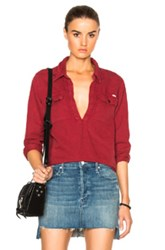 Mother Frenchie Frenchie Top In Red