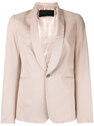 Christian Pellizzari Sleek Blazer Nude Neutrals