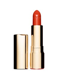 Clarins Joli Rouge Moisturizing And Long Wearing Lipstick Orange Fizz