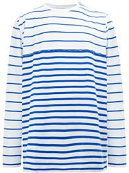 Faith Connexion Striped Jumper Blue