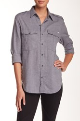 Mother The Cadet Blouse Blue