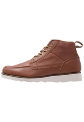 Quiksilver Sheffield Hightop Trainers Brown White