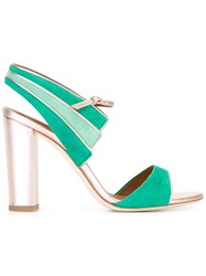 Malone Souliers Careen Sandals Green