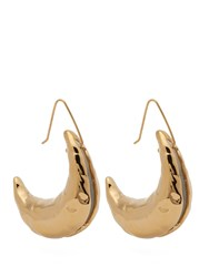 Marni Moon 24Kt Gold Plated Earrings