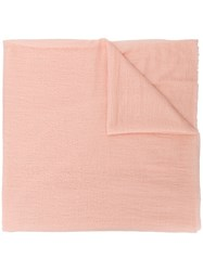 Allude Cashmere Scarf Pink