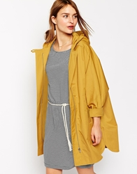 Sessun Summer Nana Hooded Parka In Ceylon Yellow Ceylonyellow