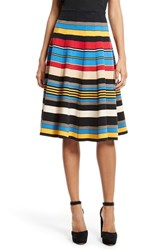 Tracy Reese Women's Stripe A Line Skirt