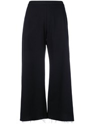 Simon Miller Cropped Trousers Blue