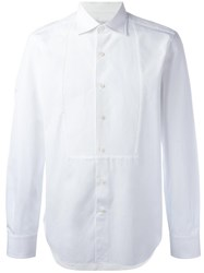 Ermanno Scervino Panel Detailing Shirt White