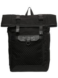 Ktz Backpack W Mesh And Leather Details