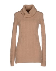 Ralph Lauren Turtlenecks Camel