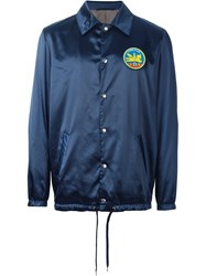 A Kind Of Guise Snap Button Front Jacket Blue