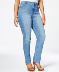 Styleandco. Style Co. Plus Size Tummy Control Slim Leg Jeans Only At Macy's Whistler