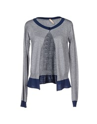 Fly Girl Knitwear Cardigans Women Light Grey