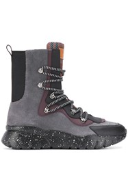 Bally Paneled Ankle Sneaker Boots 60