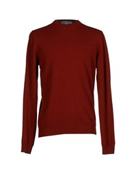 Liu Jo Jeans Knitwear Jumpers Men Brick Red