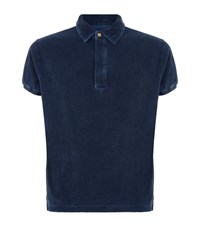 North Sails Short Sleeve Terry Polo Shirt Male Navy