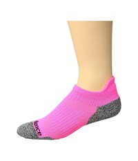 New Balance Cushioned Running No Show Tab Sock 1 Pair Pack Pink Grey No Show Socks Shoes