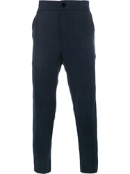 Lot 78 Lot78 Tapered Trousers Blue