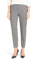 Nordstrom Women's Collection Gingham Ankle Pants