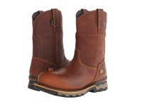 Timberland Ag Boss Pull On Alloy Toe Red Brown Men's Work Pull On Boots Mahogany