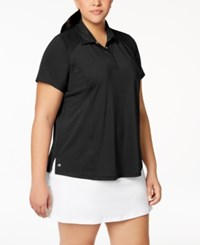 Ideology Plus Size Golf Polo Created For Macy's Noir