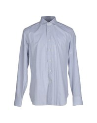 Lardini Shirts Shirts Men Sky Blue