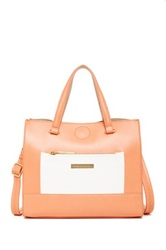 Catherine Malandrino Becca East West Tote Orange