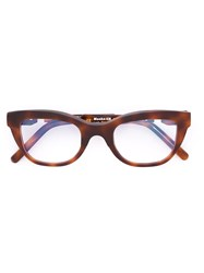 Kuboraum 'Maske K20' Glasses Brown