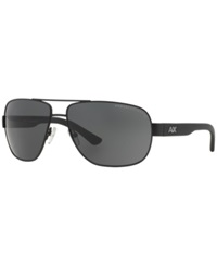 Armani Exchange Ax Sunglasses Ax Ax2012s 62 Black Grey