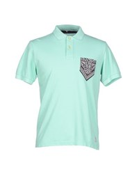 Authentic Original Vintage Style Topwear Polo Shirts Men Light Green