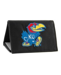 Rico Industries Kansas Jayhawks Trifold Wallet Black