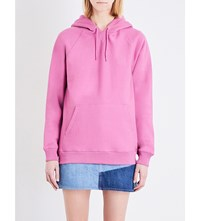 Stussy Stock Cotton Hoody Pink