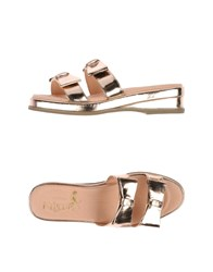 F Troupe Footwear Sandals Women Copper