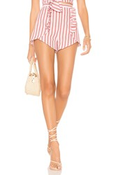 The Fifth Label Acacia Stripe Short Red