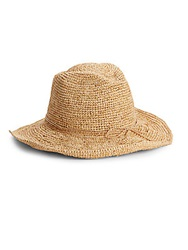 Gottex Little Cayman Cowboy Hat Natural