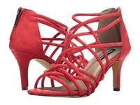 Michael Antonio Fam Red Nubuck Pu Women's Sandals