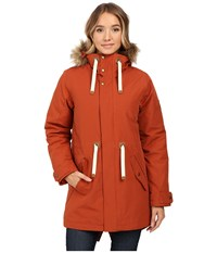Burton Saxton Parka Picante Women's Coat Red