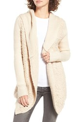 Rip Curl Women's Swept Away Hooded Cardigan Natural