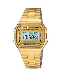 Casio Vintage Digital Watch 36.8Mm 33.2Mm Gold