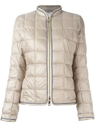 Fay Puffer Jacket Nude Neutrals