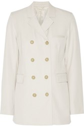 3.1 Phillip Lim Wool Twill Blazer Cream