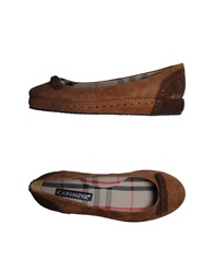Cafe'noir Cafenoir Ballet Flats Brown