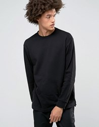 Weekday Radical Sweatshirt Longline 09 090 Black
