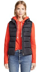 Add Down Vest Black