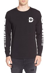 Men's Deus Ex Machina 'Deus Records' Graphic Long Sleeve Crewneck T Shirt